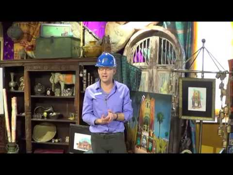Pantopia Construction Tour Painted Camel Bazaar with Brian Morrow at Busch Gardens Tampa 2-5-14