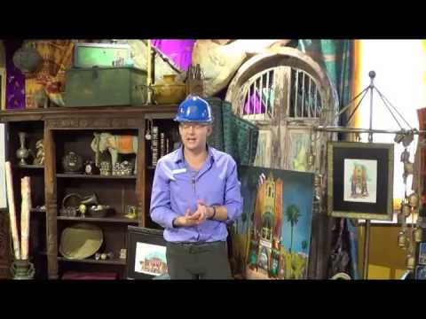 Pantopia Construction Tour Painted Camel Bazaar with Brian Morrow at Busch Gardens Tampa 2-5-14