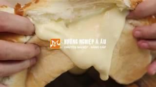 Cách làm bánh mì nhân Phô mai tan chảy cực HOT - H�c nấu ăn gia đình