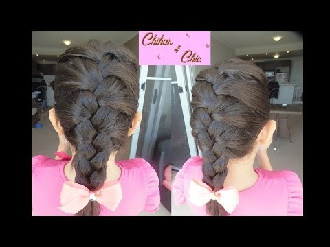 Trenza Francesa paso a paso - French braid