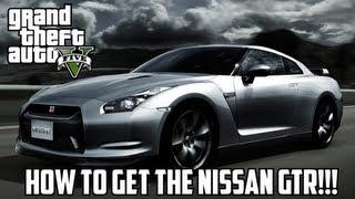 GTA V: How To Get The Nissan GTR! (Elegy RH8) Special