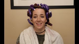 Giving Myself A Perm