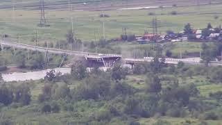 شاهد بالفيديو انهيار جسر في روسيا | قنوات أخرى
