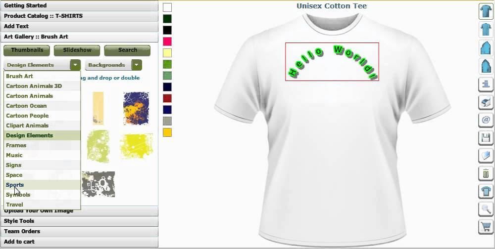 T Shirts Design Software Design T Shirts Software