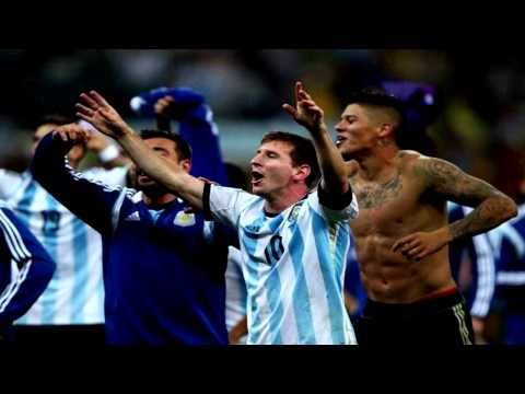 Lionel Messi Celebrating Qualification for World Cup final - Emotional