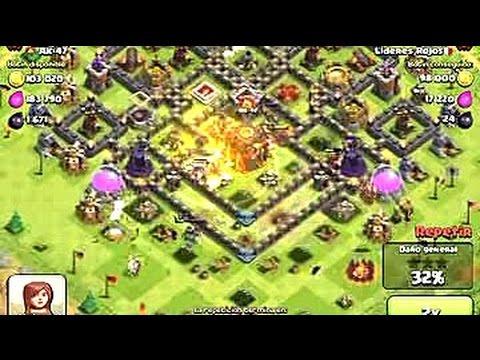 en Liga de Campeones (¡¡CON CERDOS!!) - Ataque de alto nivel - Clash