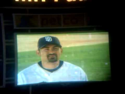 6/26/14 ADRIAN GONZALEZ. via VIDEO @ TONY GWYNN's  PUBLIC MEMORIAL CEREMONY, PETCO PARK