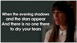 Glee Make You Feel My Love (Lyrics)