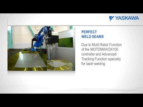 Motoman robot for remote laser welding applications