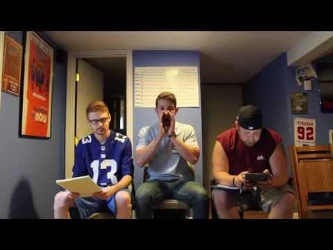 2015 Fantasy Football Mock Draft: Rounds 1-3