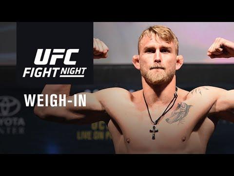 Wyniki ważenia UFC FN 109: Held, Stasiak oraz Sobotta w limicie