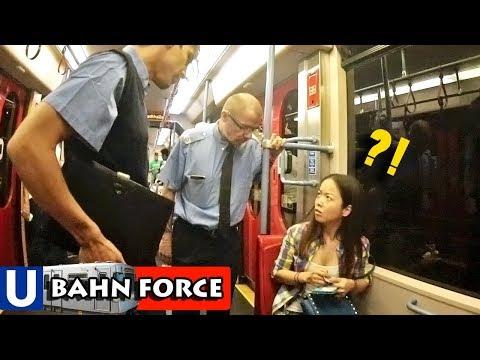 Verrückte Kontrolle – U-Bahn Überwachungsvideo