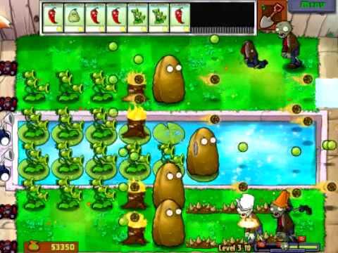 Plants Vs Zombies - Stage 3-10