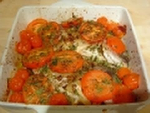 Mediterranean fish oven baked sea bream how to cook recipe for How to bake fish in the oven