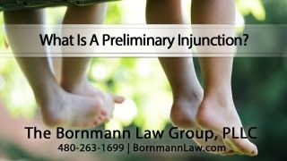 What Is A Preliminary Injunction?