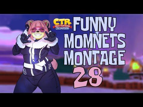 Crash Team Racing Nitro-Fueled ♥ funny moments montage 28