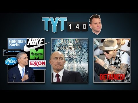 Obama In Asia, Ukraine Sanctions, Cliven Bundy, Bieber Detained - TYT140 (April 25, 2014)