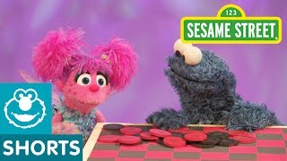Cookie Monster Plays (Eats) Checkers: Sesame Street