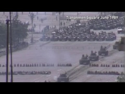 Tiananmen Square massacre remembered 25 years on
