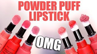 POWDER PUFF LIPSTICK??? ... OMG