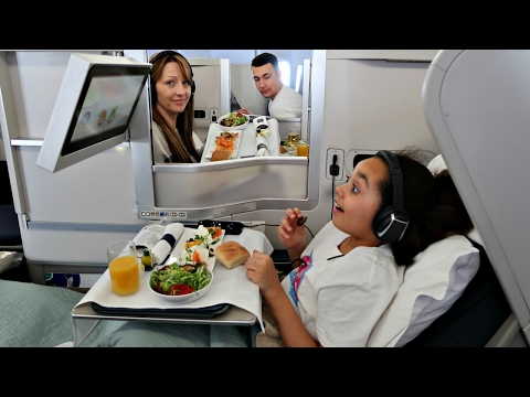 KIDS REACT 9 Year Old Kid Hits 4 Million Subscribers Business Class Airplane Flight To NYC