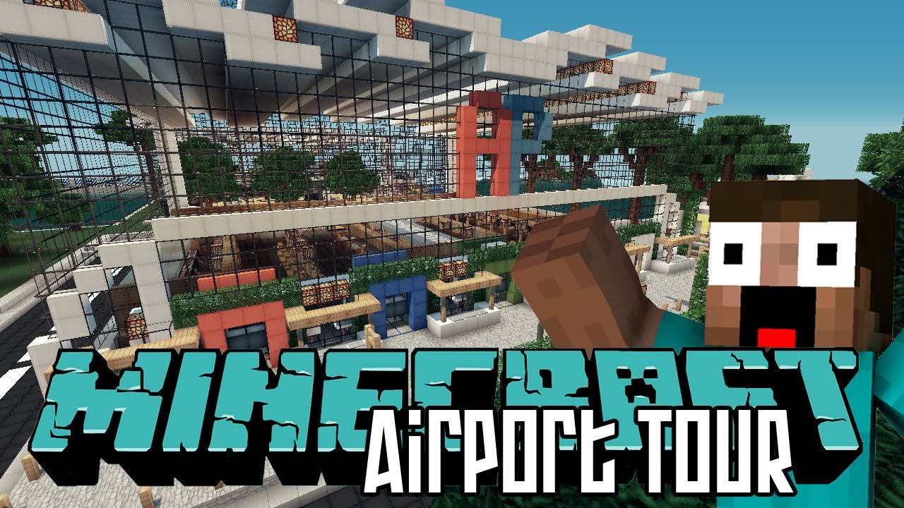 Minecraft Airport Picture
