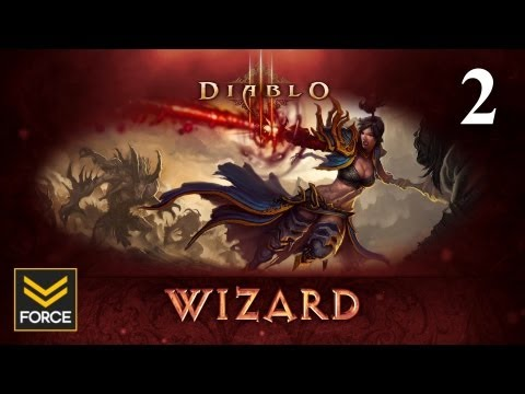 Diablo 3 Beta - Wizard Gameplay (Commentary) Part 2