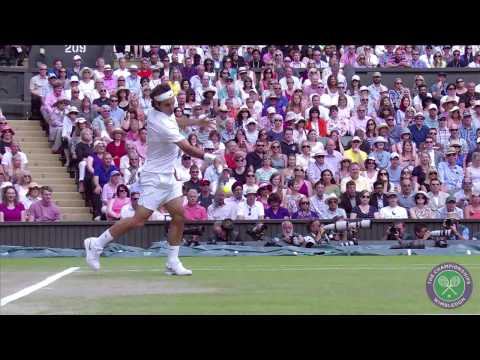 Fan reactions to Djokovic v Federer - Wimbledon 2014