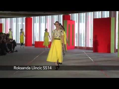 London Fashion Week Roksanda Ilincic SS14
