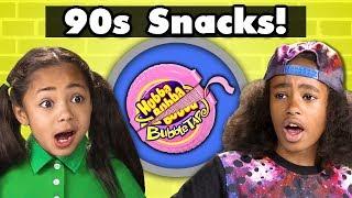 KIDS TRY 90s SNACKS! | Kids Vs. Food