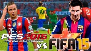 FIFA 15 Vs PES 2015 Gameplay + Info