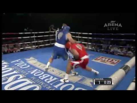 Christian Cullen v Issac Luke (Rugby Stars Celebrity Boxing)