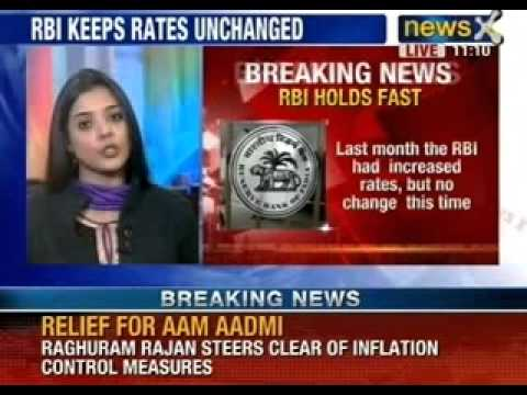 NewsX: Reserve Bank of India, decision not to hike interest rate