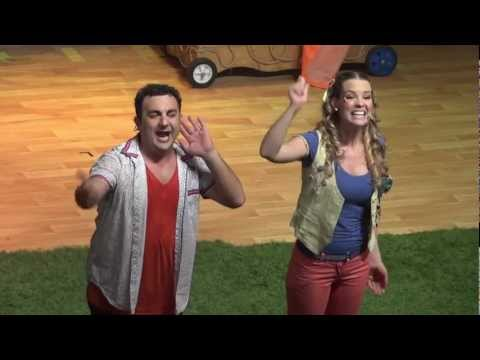 2/5 Topa y Muni en el Teatro Gran Rex Febrero 2012 La Casa de Disney Junior Canciones