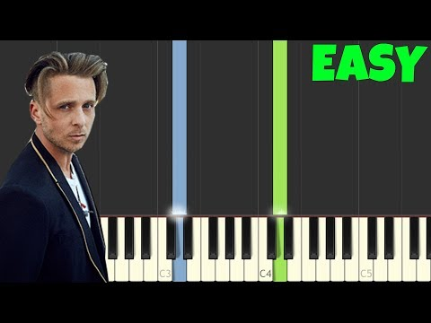 how to play apologize on piano easy