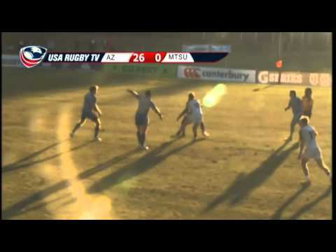 2013 USA Rugby College 7s National Championship: Arizona vs. Middle Tennessee