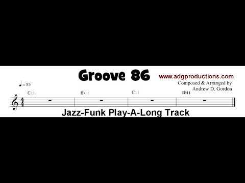 Jazz-Funk Play-a-Long Track