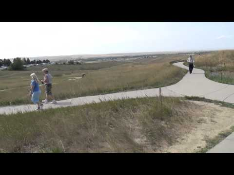 Biker Lawyer at Little Bighorn Battlefield raw video 2