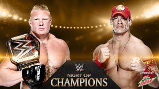 John Cena Vs. Brock Lesnar I Quit Match WWE World
