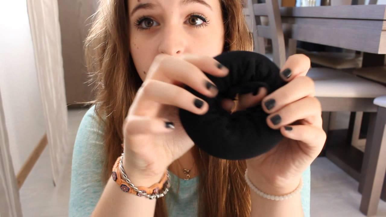 TUTO: Chignon donut - YouTube