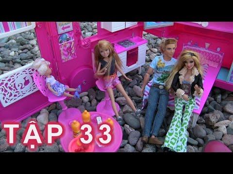 👏Cuộc Sống Barbie & Ken (Tập 33) Cả Nhà Barbie Đi Cắm Trại  👏 Barbie  Go Camping New  Camper Van
