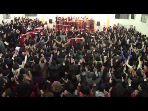 Reunión de la Juventud de la Catedral Evangélica de Chile en Clase La Castrina