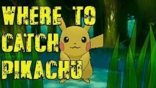 Pokémon X And Y Where To Catch/Get Pikachu