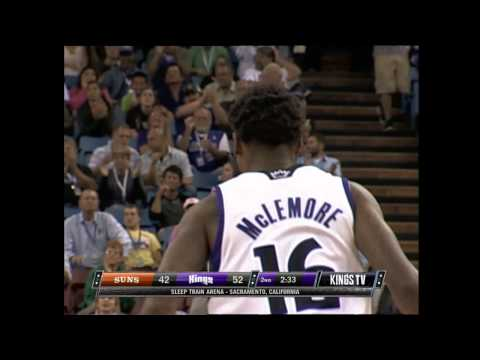 Ben McLemore Catches the Lob and Smashes It Down