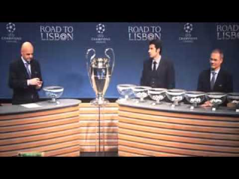 UEFA Champions League   Draw of the 1 8 Finals 2013 2014 HD   YouTube 240p