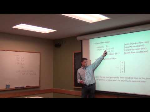 Lecture 14: EPS 7, Optimal Power Flow
