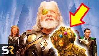 Marvel Theory: Did Odin Collect All The Infinity Stones First?