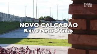 Áreas de Lazer do Novo Calçadão do Porto Dantas