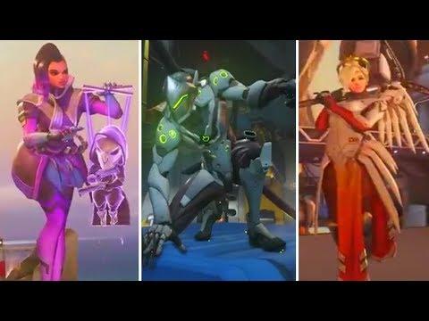 Overwatch - NEW EMOTES REVEALED (Sombra, Genji, Mercy)