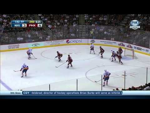 New York Islanders vs Phoenix Coyotes 12.12.2013